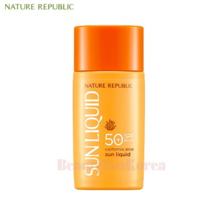 NATURE REPUBLIC California Aloe Sun Liquid SPF50+PA++++ 50ml [New],NATURE REPUBLIC